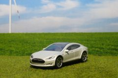 Tesla Model S (Matchbox)