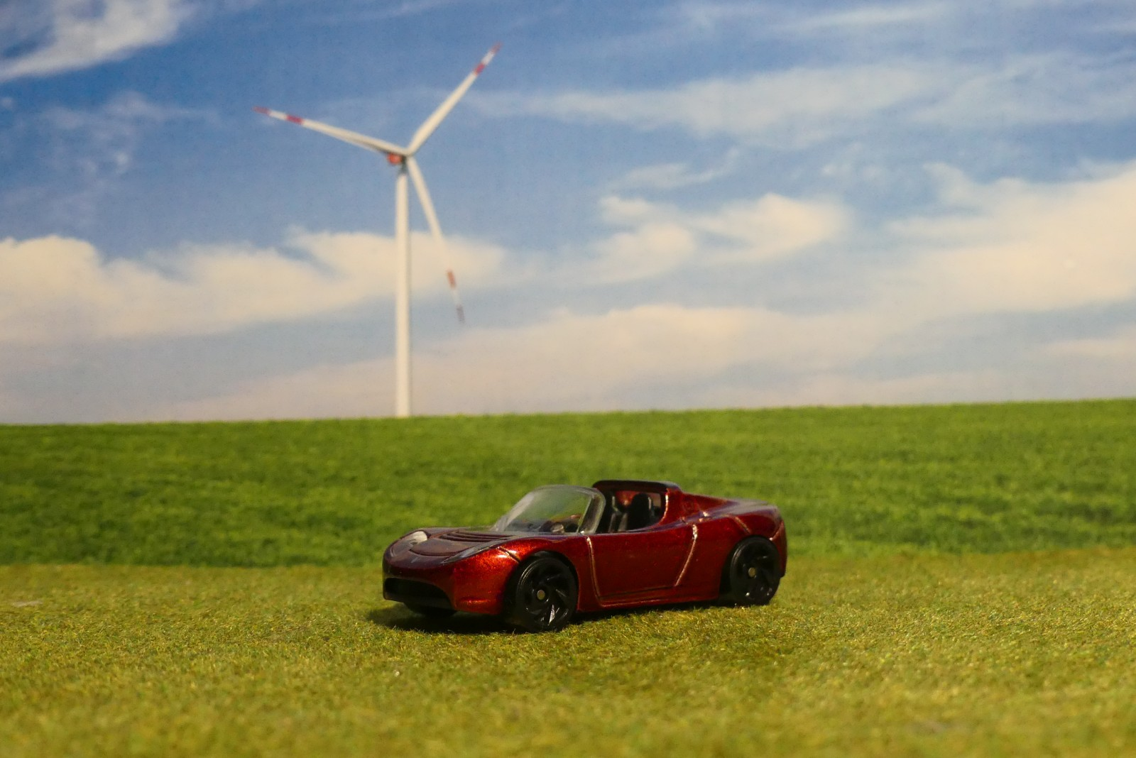 Tesla Roadster (Hot Wheels)