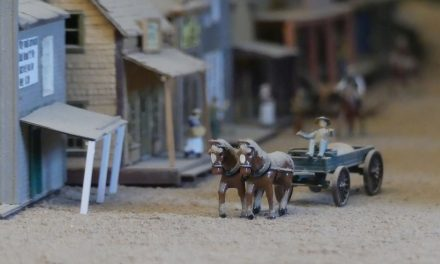 "The ""Wild West"" diorama at Pullman City Hasselfelde, Germany"
